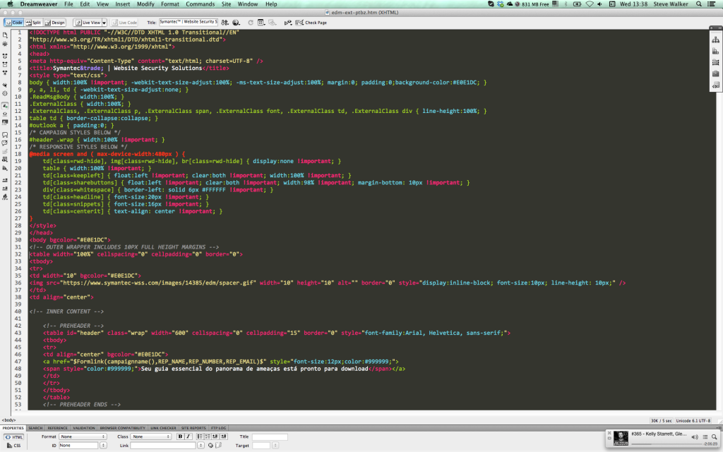 Dreamweaver Code View Colour Scheme Dark Sublime Text 2