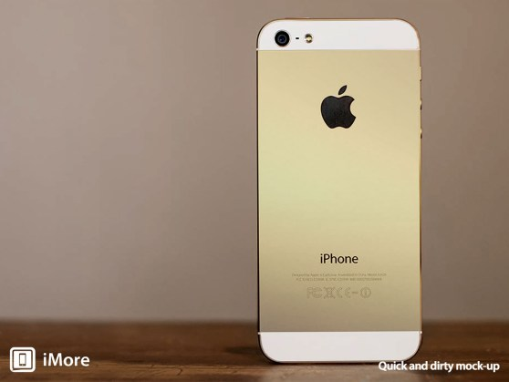 """Would you own the """"Champagne"""" gold coloured iPhone?"""