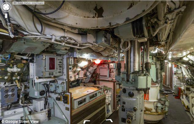 HMS Ocelot Submarine Google Street View