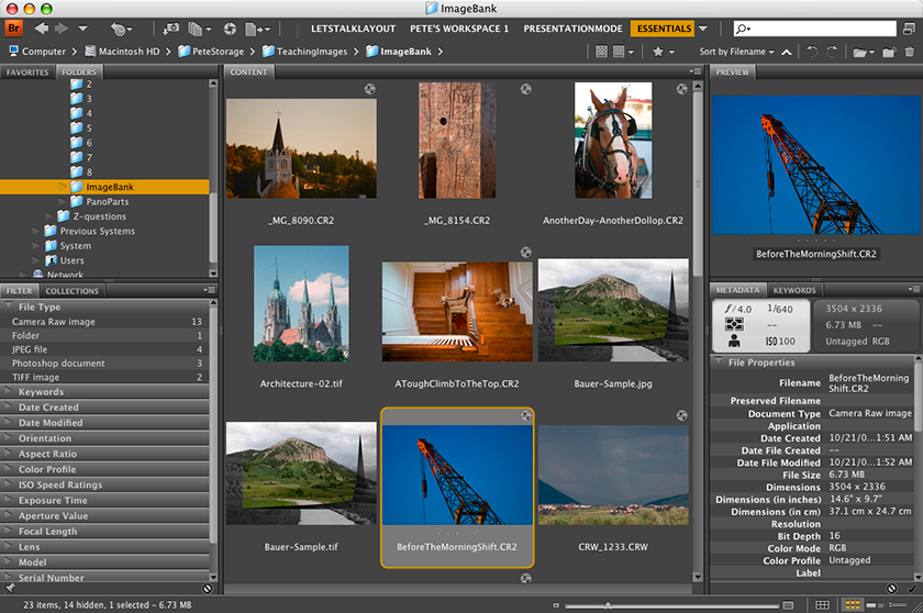 How to create multi page PDFs in Adobe Bridge