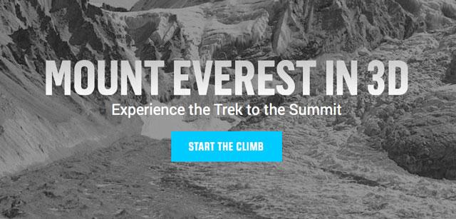 Everest Climb Interactive HTML 5