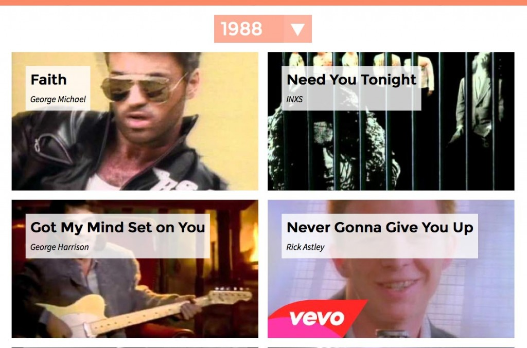 The nostalgia machine lets you listen to songs from your for Songs from 1988 uk
