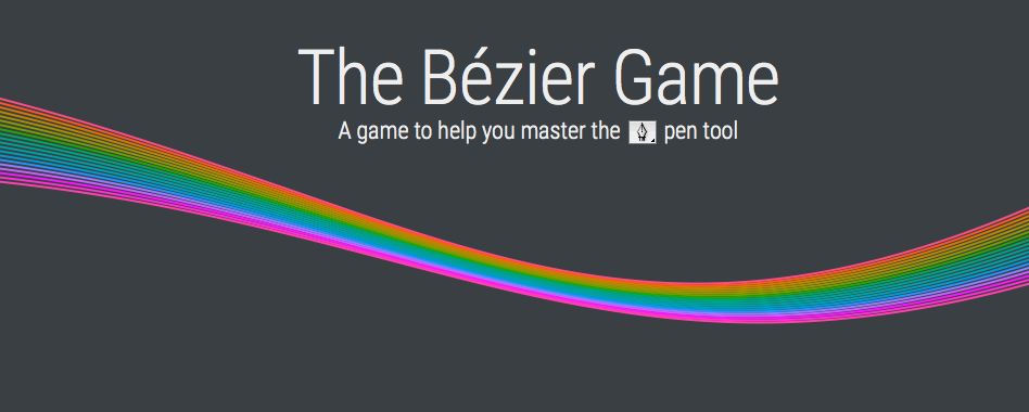 The Bézier Game Teaches You The Photoshop Pen Tool